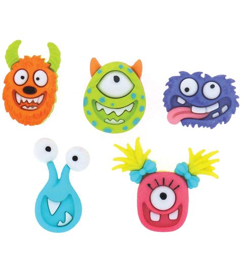 Dress It Up Button Mad For Monsters dress it up embellishments mad for monsters at joann