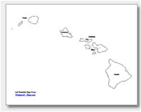 coloring page map of hawaii hawaii map coloring sheet murderthestout
