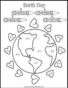 earth day printable worksheets for preschool free printable earth day worksheets for kids preschool
