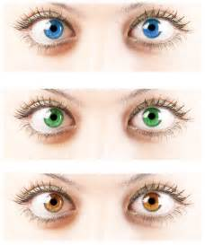 genetic eye color what are dominant and recessive