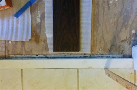 Transition 1 inch tile to 1/2 inch laminate   DoItYourself