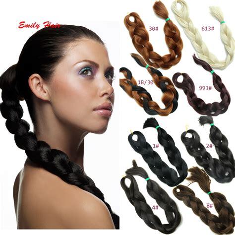 how to style xpressions hair 86inch 165g synthetic braiding hair brazilian braid