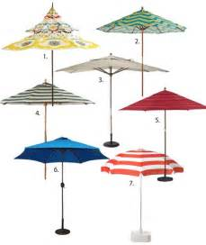 Small Outdoor Patio Umbrellas Summer Essential Patio Umbrellas Apartment Therapy