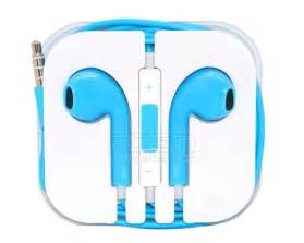 colored apple earbuds multicolor earphone headphones with remote and mic for