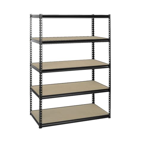 Store Shelves And Racks Heavy Duty 5 Shelf Storage Unit Ebay