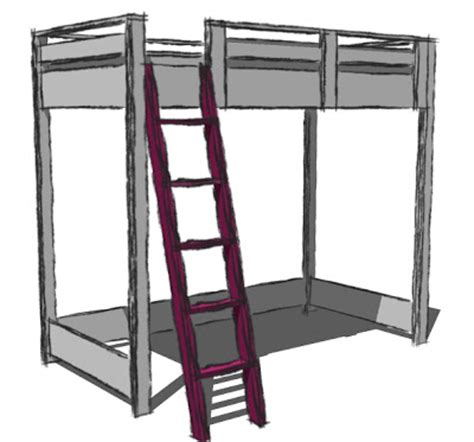 college loft bed plans  wooden plans  love woodworking