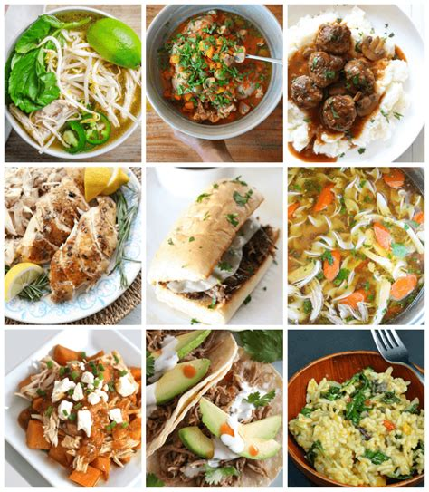 10 easy instant pot recipes 10 healthy instant pot dinners happiness is