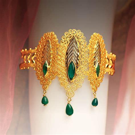 Baju Bandh Of Gold gold baju bandh