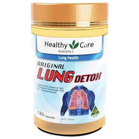Healthy Care Liver Detox Review by Jual Healthy Care Original Lung Detox 180 Capsules Harga