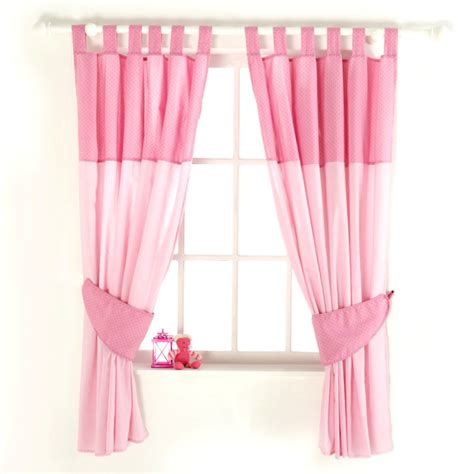Baby Nursery Cute Baby Room Decoration With Pink Nursery Curtain For Nursery