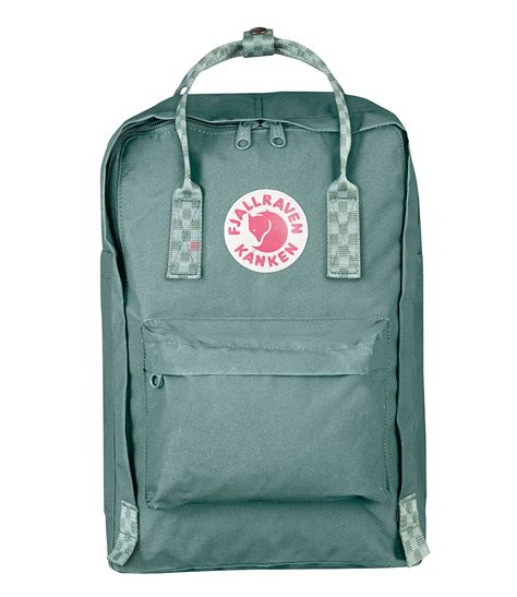 kanken   laptop frost green   fjallraven