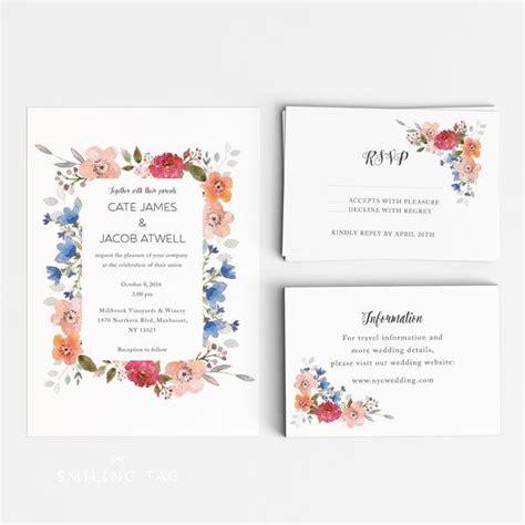 50 lovely photos of free printable wedding rsvp card templates