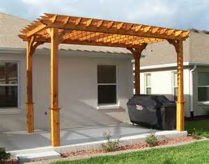 Pictures Of Pergola by Red Cedar Vintage Classic Free Standing Pergolas