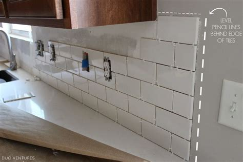 duo ventures kitchen makeover subway tile backsplash installation 149 best images about new kitchen great room on pinterest