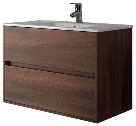 modern sink bathroom vanities concetto 6100 vanity acacia finish 32 quot modern