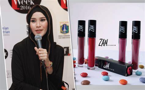 zaskia adya mecca memanfaatkan popularitas untuk memasarkan zam cosmetics