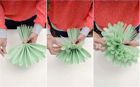 Flowers With Papers - diy tissue paper flowers project nursery