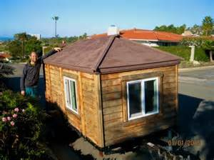 tiny house craigslist living a simple life in a home he bought off craigslist