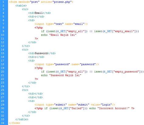 membuat login dan logout dengan php membuat halaman login dan logout menggunakan php