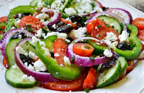 greek salads greek salad health inspirations