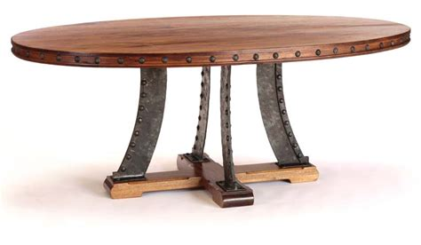 frisco oval dining table western dining tables free