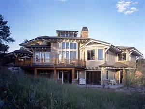 Southwest House craftsman prairie style southwest house plan 43205