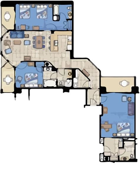 marriott aruba surf club 3 bedroom floor plan three bedroom villas arubasurfclubresort com