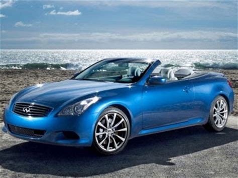 new car image gallery: infiniti g37s convertible sports