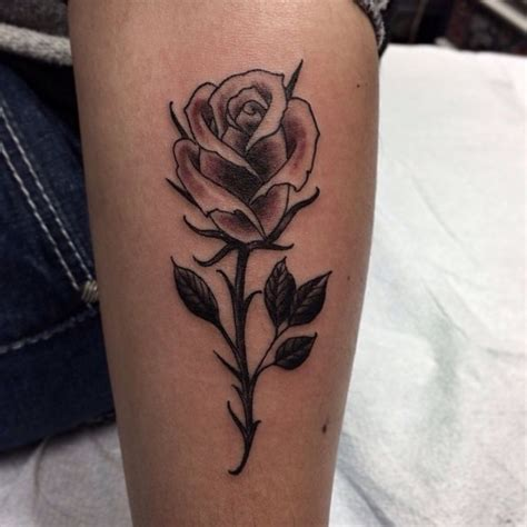 tattoo under 18 single roses single and roses