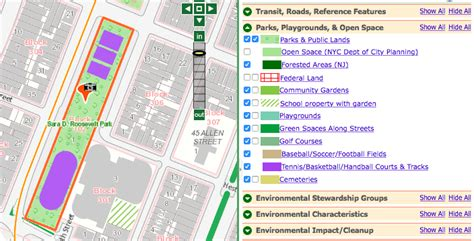 oasis nyc map help find parks buildings 596 acres