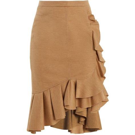 Ruffled Tweed A Line Miniskirt best 25 wool skirts ideas on tweed skirt