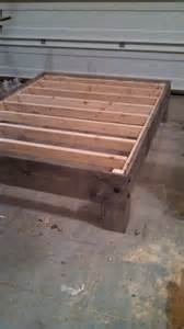 Diy Bed Platform Diy Platform Beds Diy Platform Bed For The Home