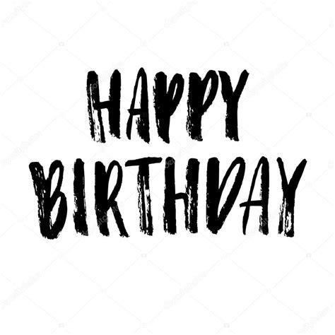 imagenes para cumpleaños blanco y negro tarjeta de felicitaci 243 n de cumplea 241 os feliz vector de