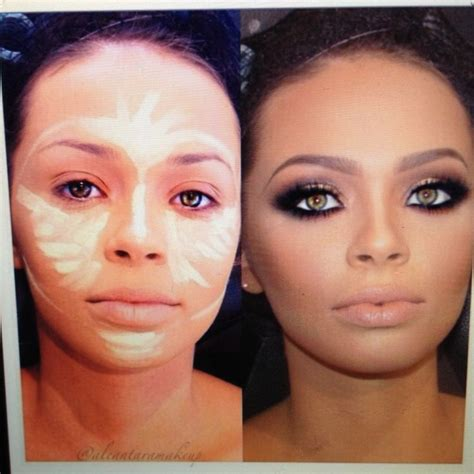 tutorial makeup contouring face contouring tutorial makeup make up ideas ღ