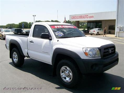 Toyota Tacoma 2007 For Sale 2007 Toyota Tacoma Regular Cab 4x4 In White 447913