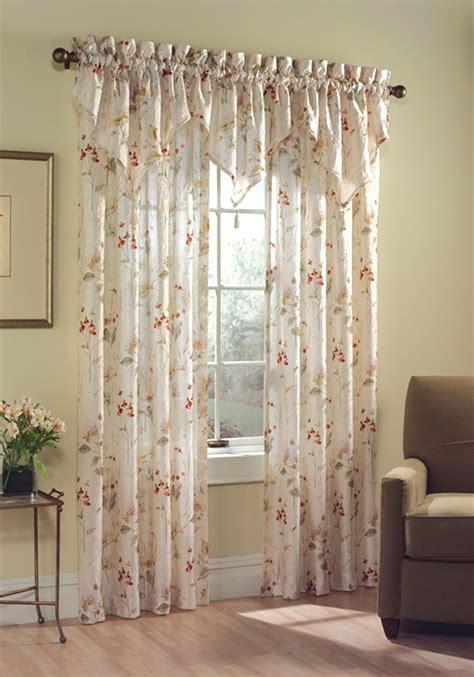 floral drapery panels curtain bath outlet chantelle floral curtain panel