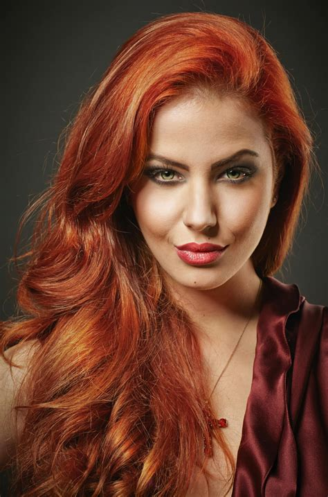 red hair colour on mature women especial coloraci 243 n 191 c 243 mo llevar mi cabello esta