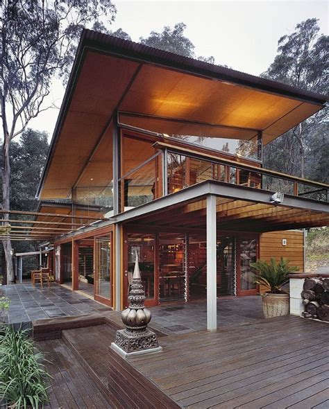 wooden house design glass mountain house by cplusc architecture
