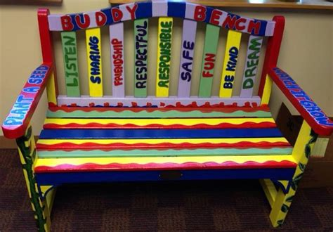 friendship bench school 17 best images about buddy benches on pinterest