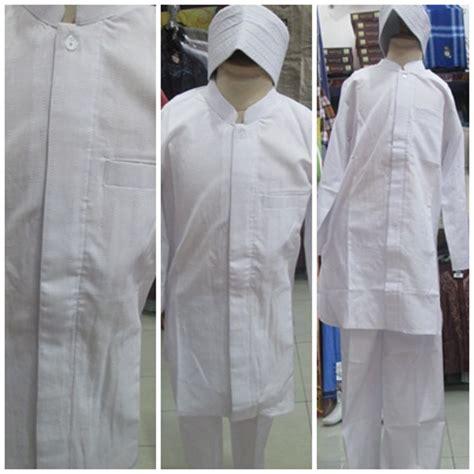 Koko Pakistan Anak 9 11thn Putih jual baju koko anak stelan peci khusus putih model