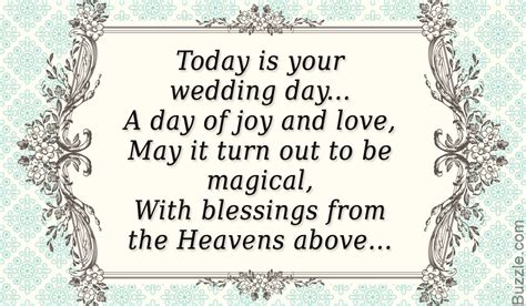 Wedding Blessing Verses For Cards by From Your Words Of Congratulations For A