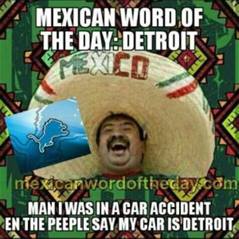 Spanish Word Of The Day Meme - mexican word of the day jokes kappit