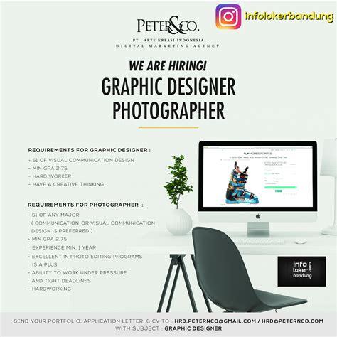 lowongan kerja design bandung juli 2015 lowongan kerja pt arte kreasi indonesia peter co maret