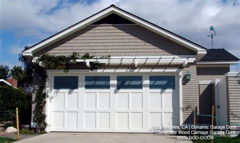 composite wood garage doors eco custom designed eco friendly composite wood garage doors made in los angeles ca traditional