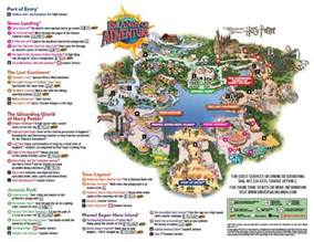 Map Of Universal Orlando by Islands Of Adventure Map Disney Pinterest Island Of