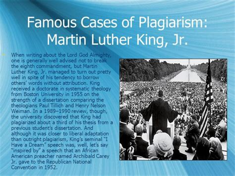 martin luther king dissertation mlk plagiarism dissertation four things you didn t