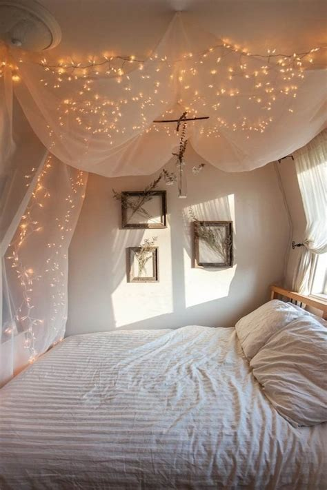 cheap string lights decor  making  bedroom cozy