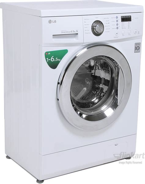 Lg Washing Machine With Built In Mp3 Player by Lg F12b4wdl2 6 5 Kg Fully Automatic Front Loading Washing