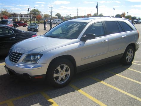 Pacifica Chrysler 2005 by 2005 Chrysler Pacifica Pictures Cargurus