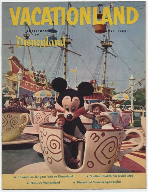 vacationland books auction howardlowery disneyland vacationland magazine